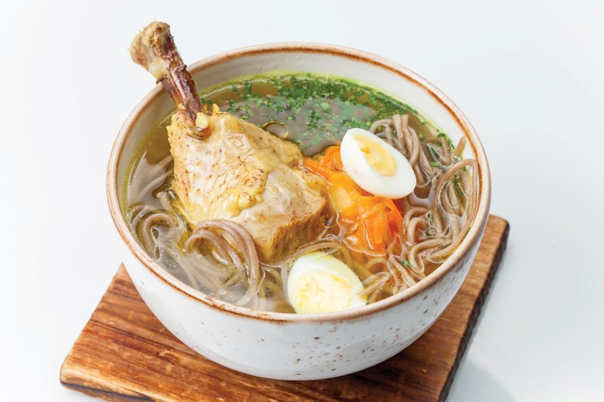 Суп из цыпленка