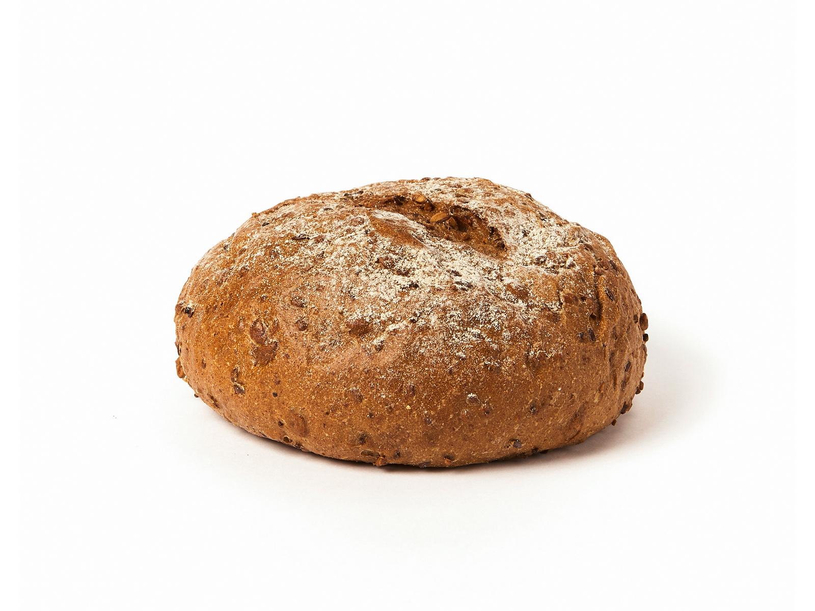 Серый зерновой хлеб
