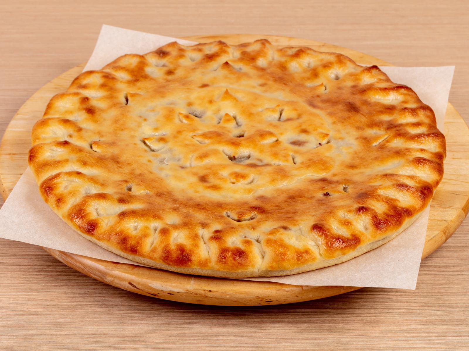 Осетинский пирог с мясом (Фыдджин)