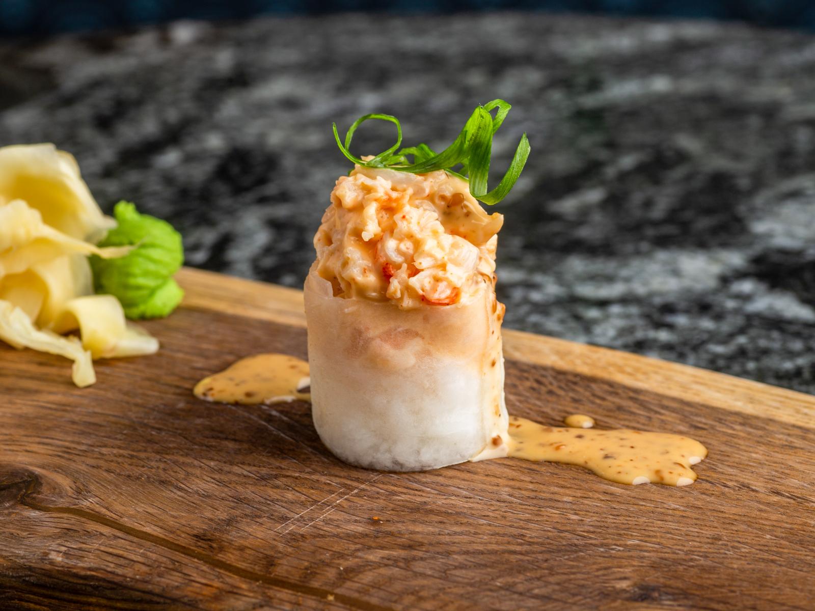Суши не нигири креветка