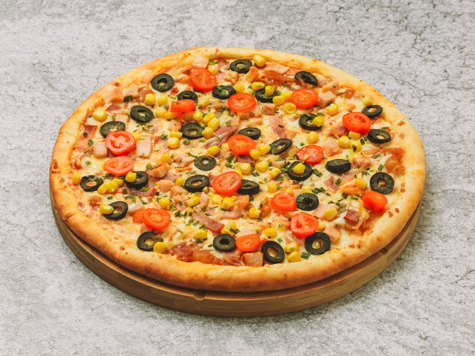 Пицца Двухэтажная