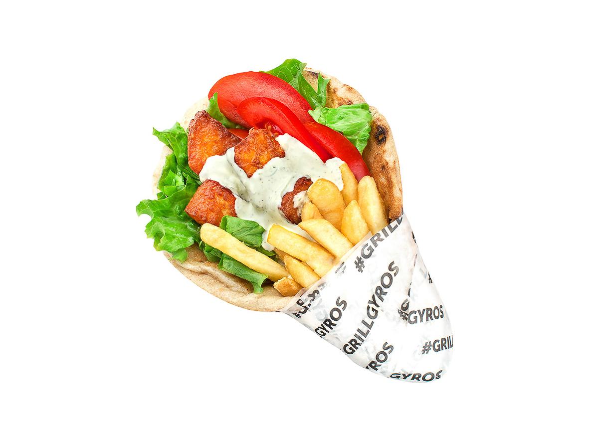 Гирос Халуми вегетарианский