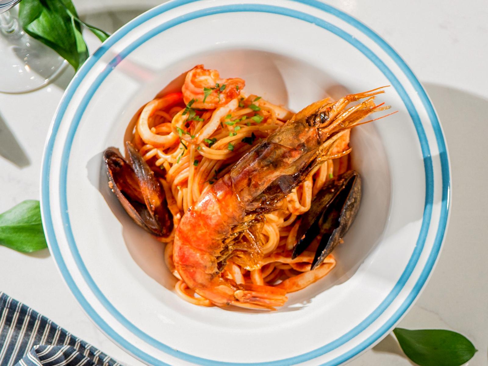 Спагетти Фрутти де маре