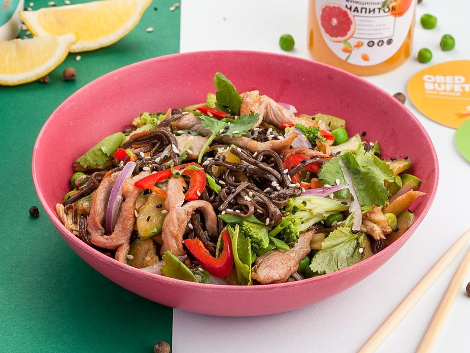 Вок Свинина с овощами