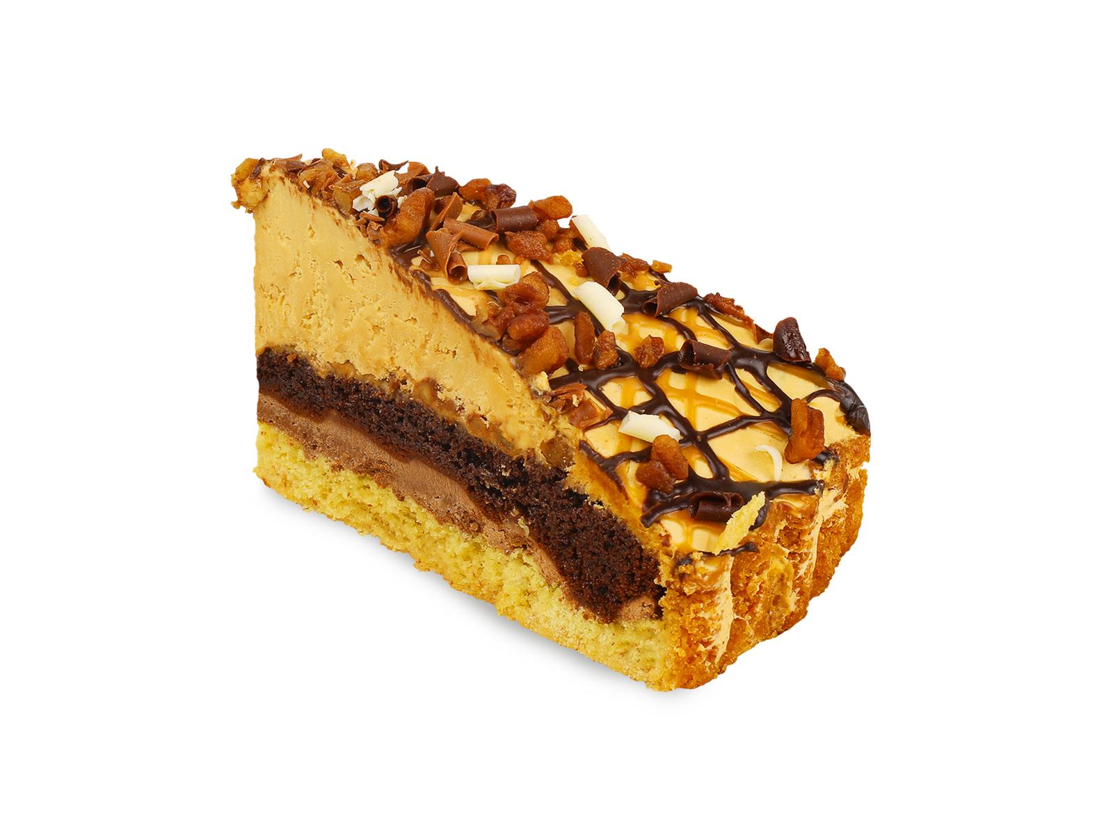 Торт Карамельно-шоколадный