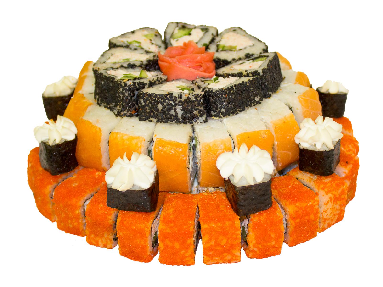 Суши-торт Праздник