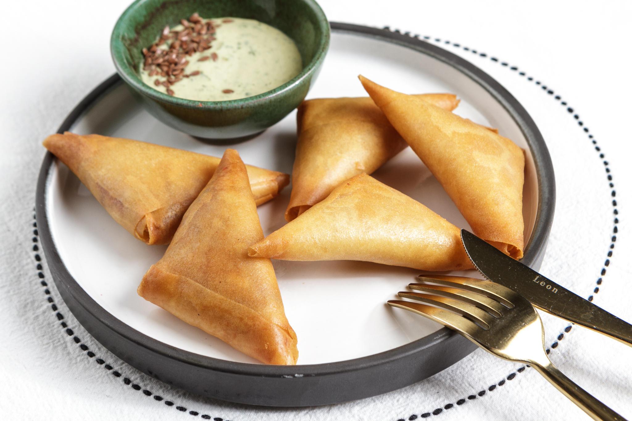 Брейваты - хрустящие марокканские пирожки с креветками