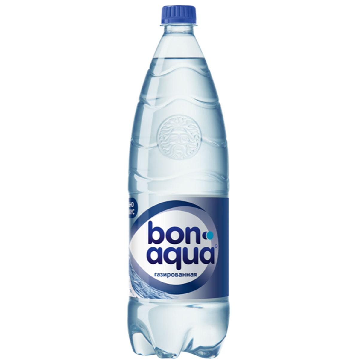 BonAqua газированная
