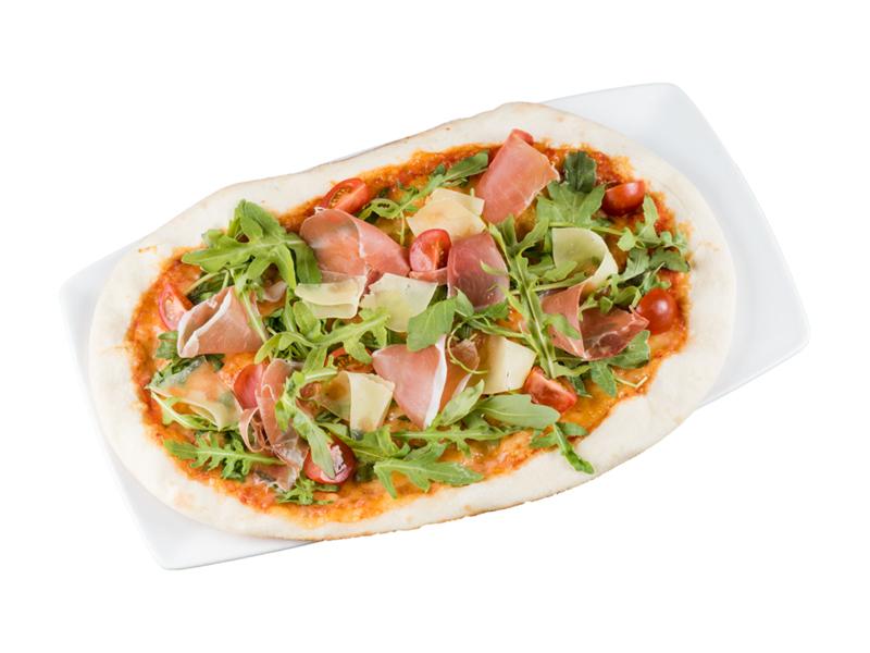 Пицца Римская с пармской ветчиной