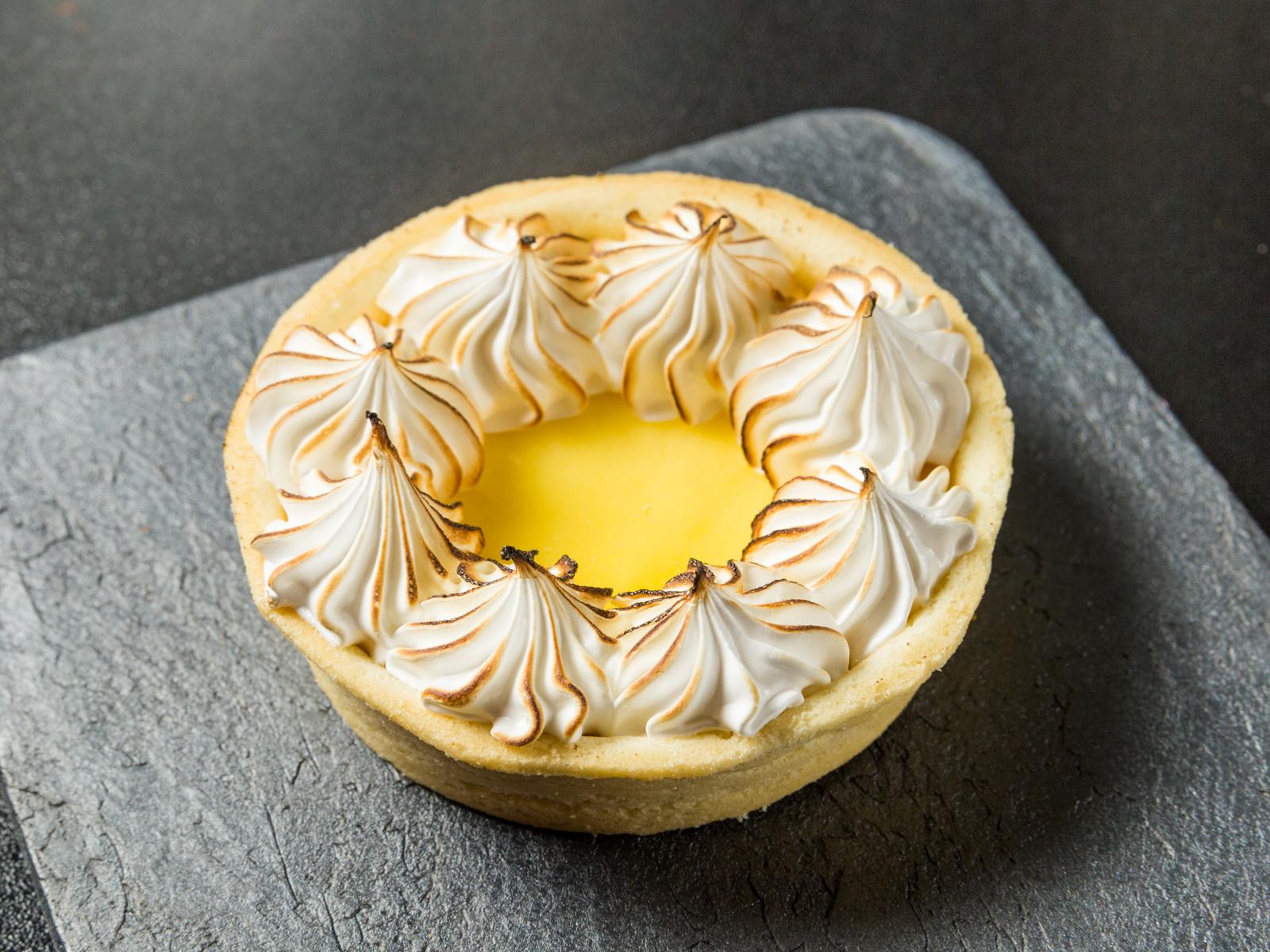 Тарт Лимонная меренга