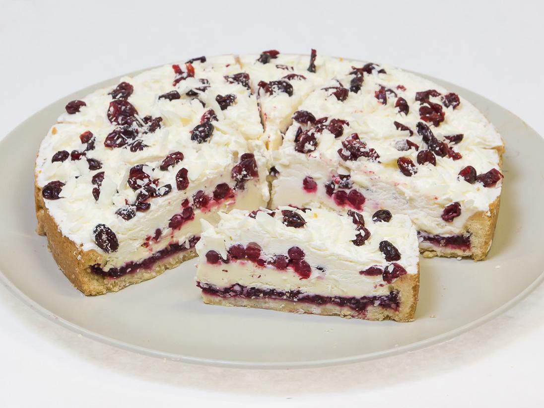 Пирог Бруснично-Кремовый
