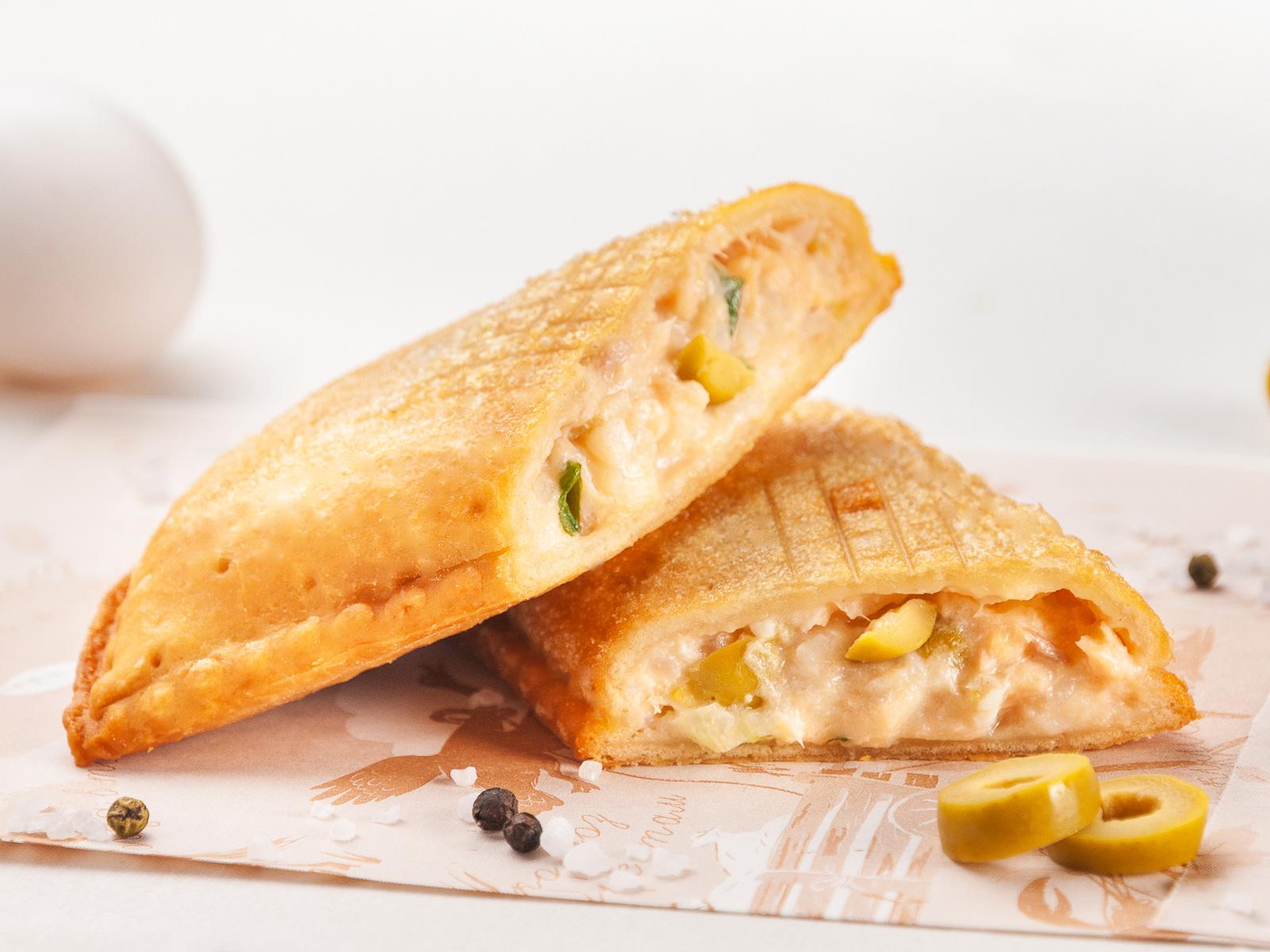 Пирог Сёмга в рисе