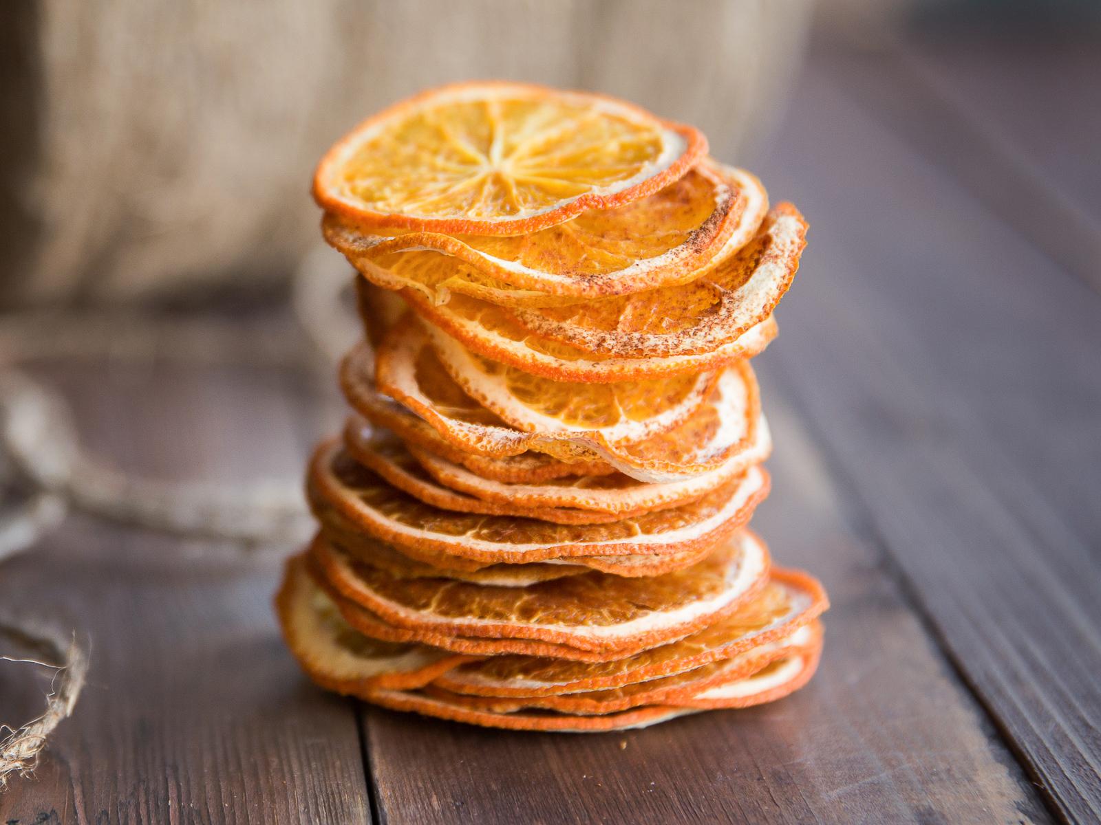 Чипсы из апельсина