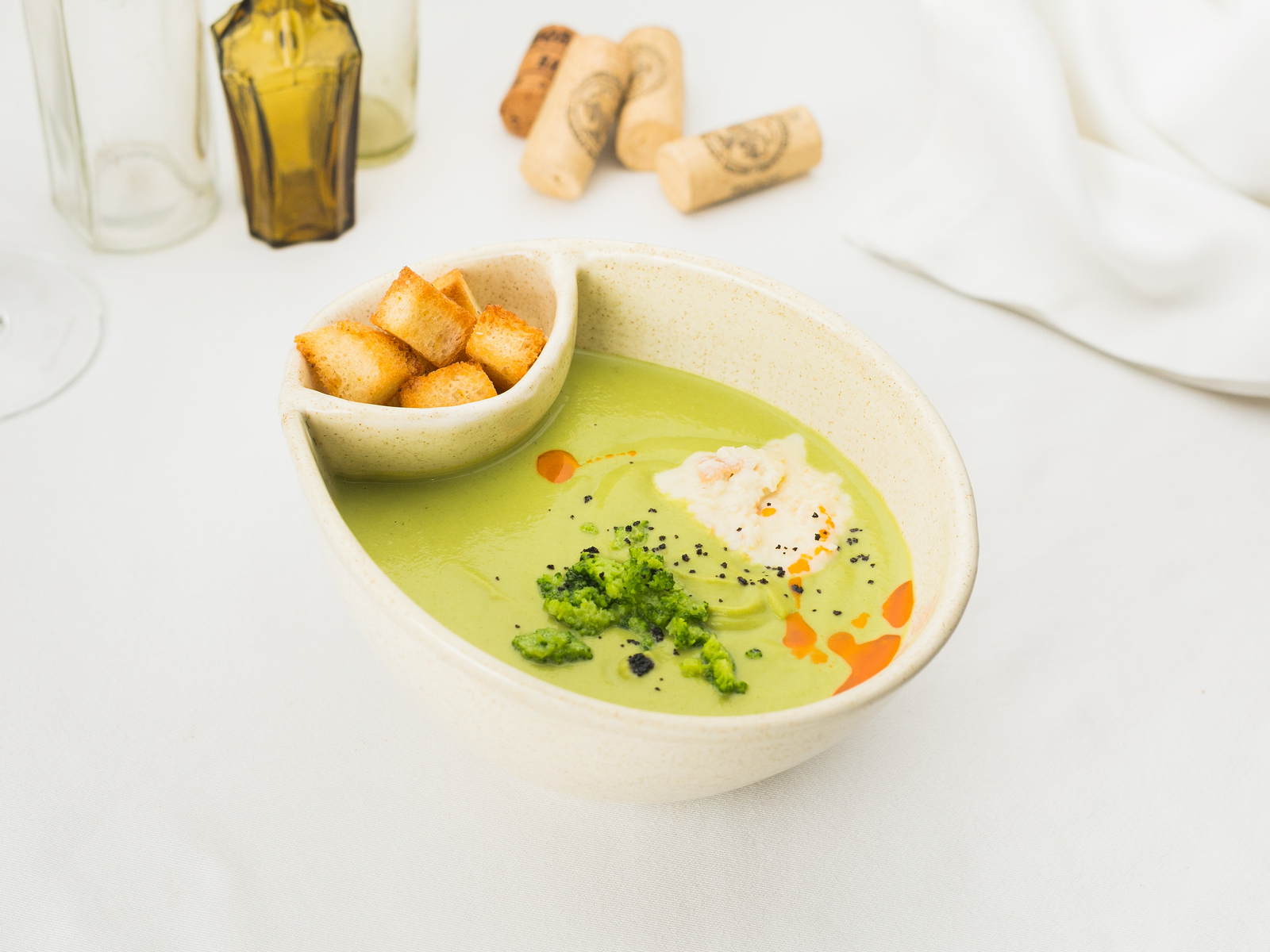 Суп-крем из брокколи
