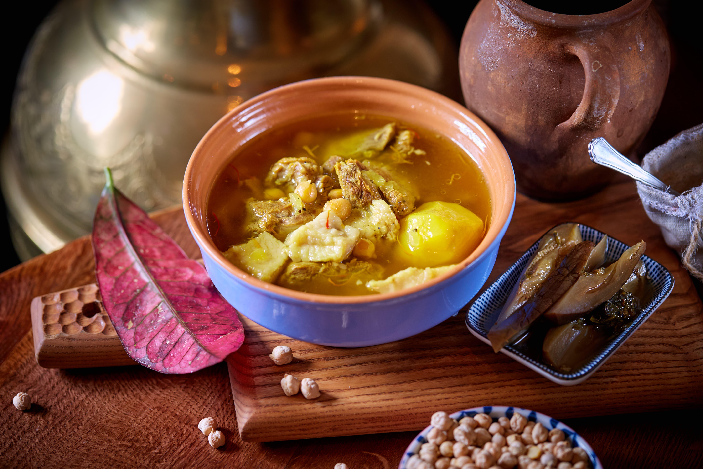 Суп из томленой баранины