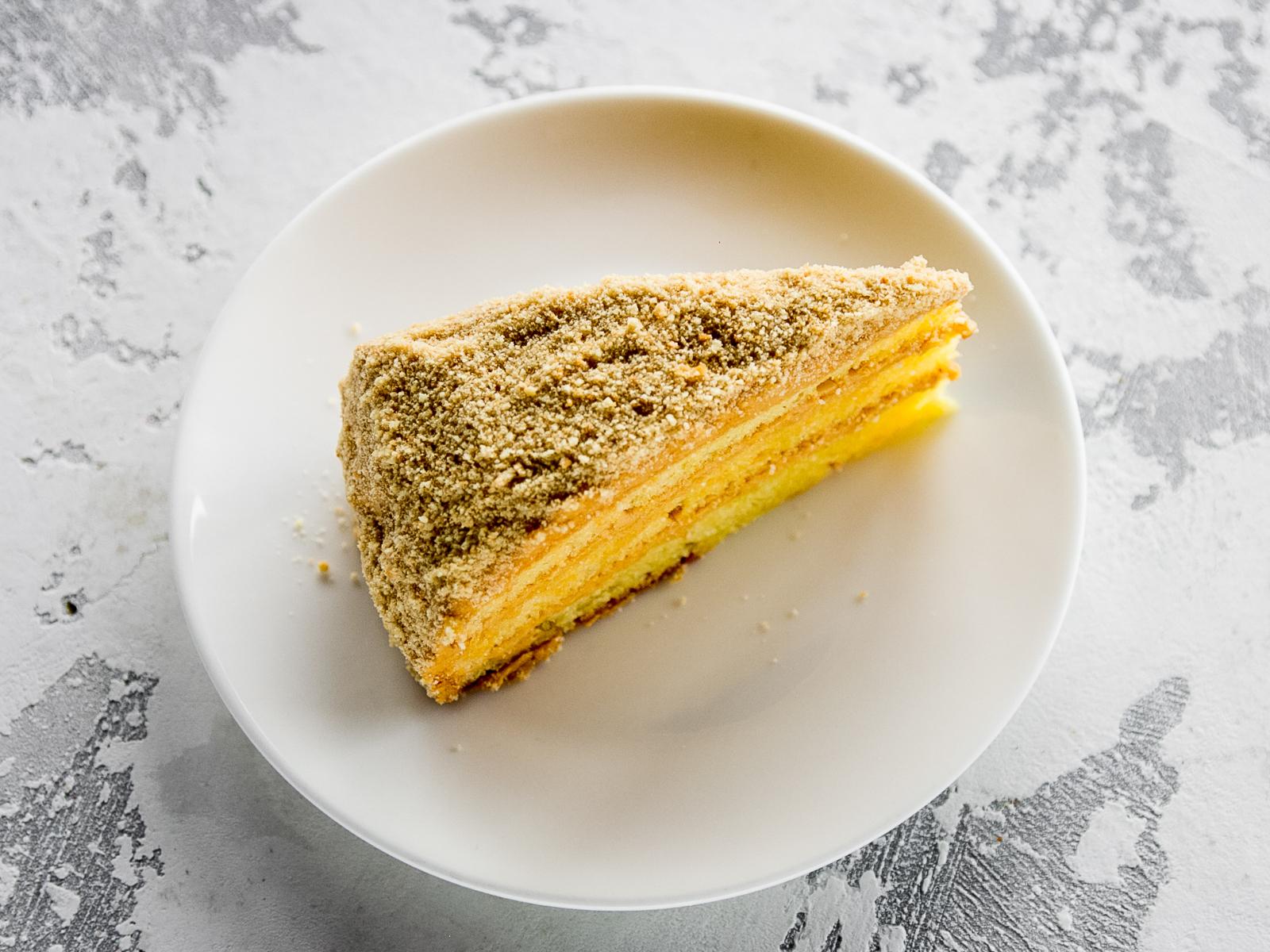Кукурузный бисквит