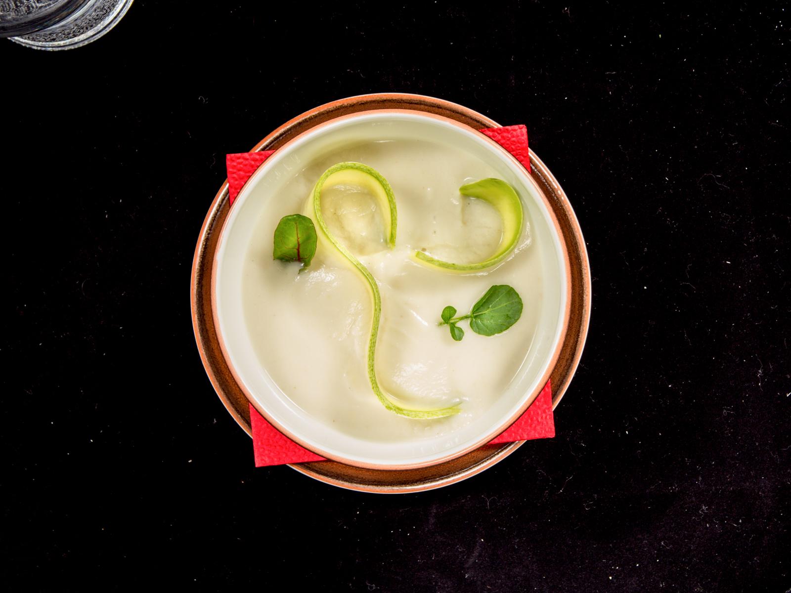 Крем-суп из капусты