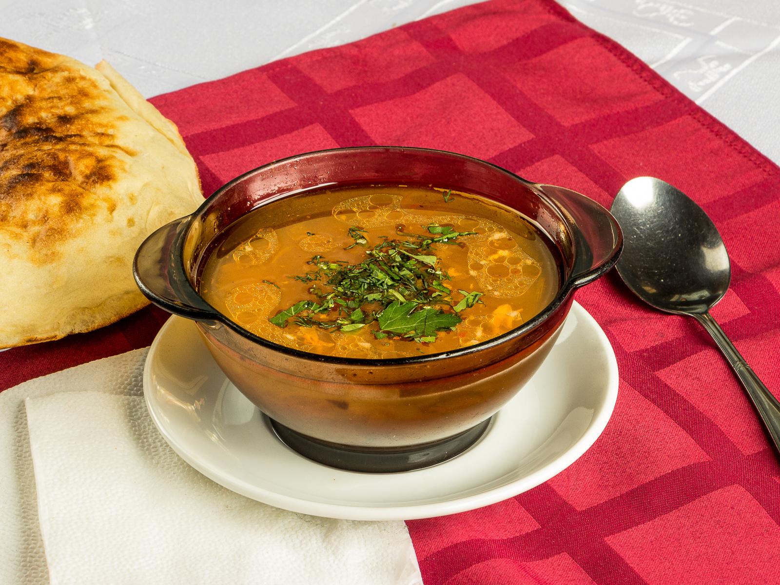 Суп из семги или форели