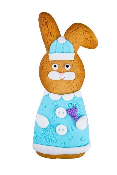 Печенье Имбирный Заяц Снегурочка