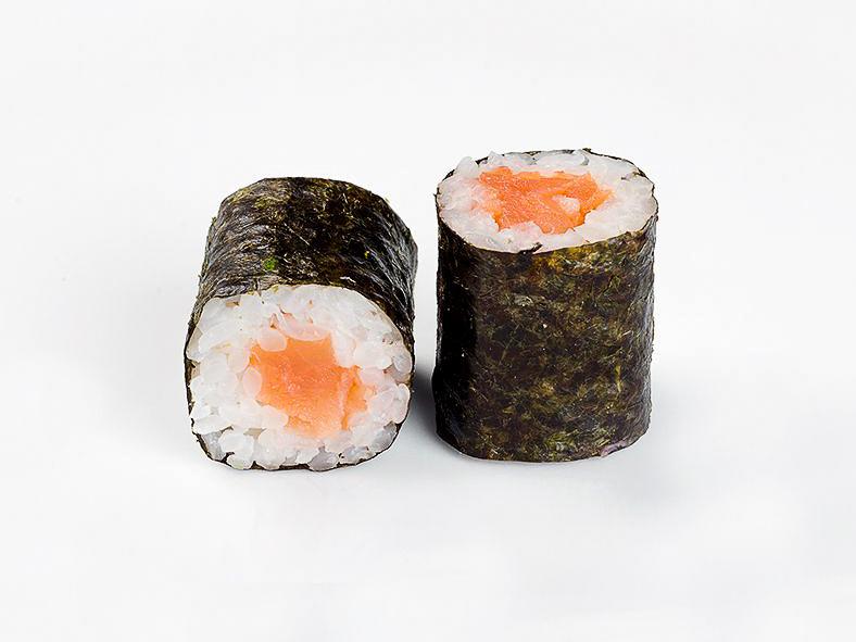 Ролл с лососем слабосоленым спайси
