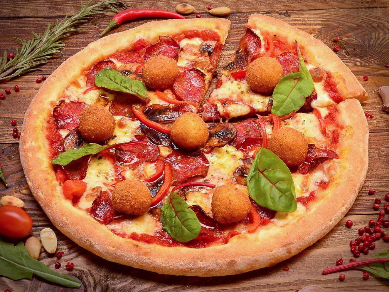 Пицца Рафаэлло
