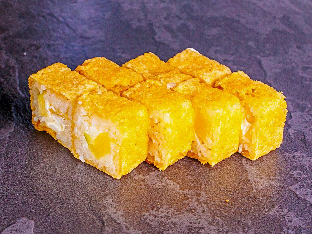 Десерт Яблоко ананас