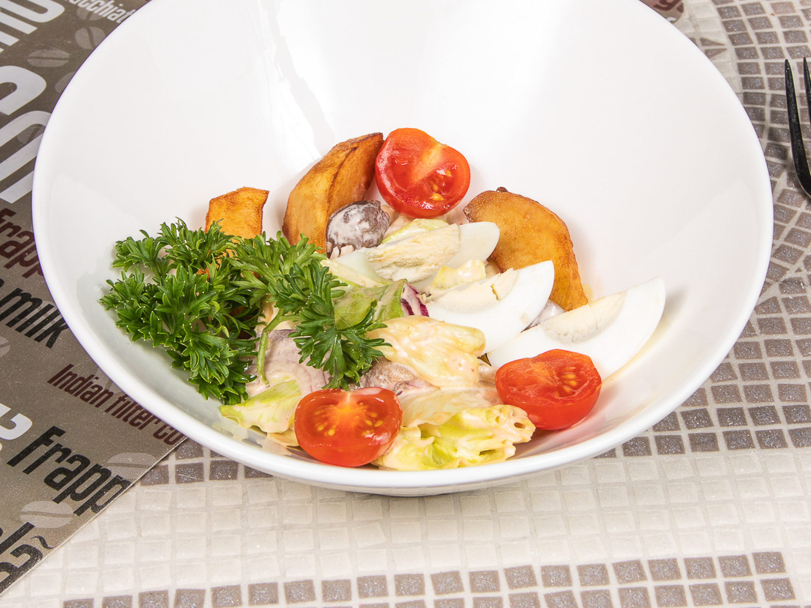 Теплый салат Мужской