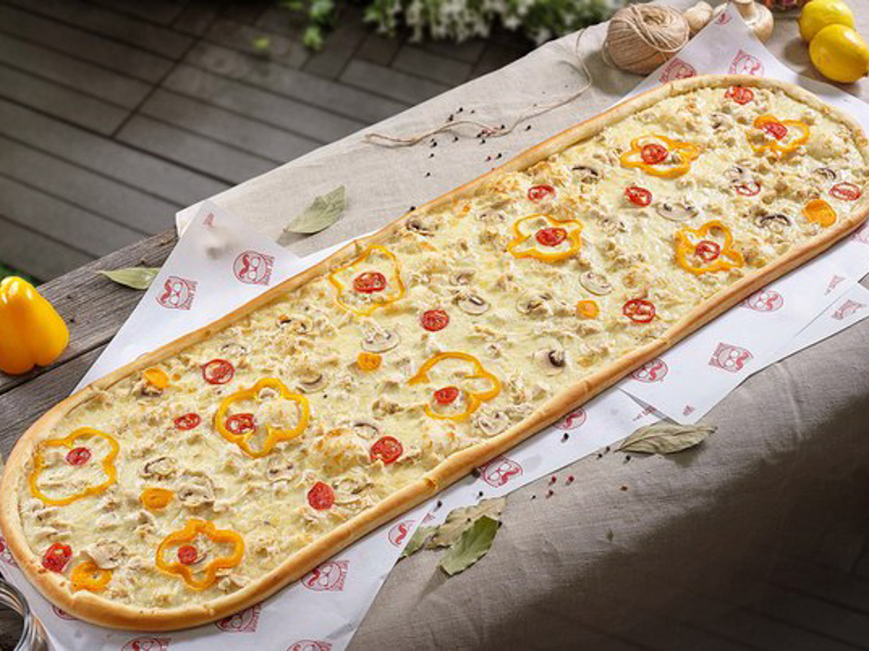 Метровая пицца Куриная