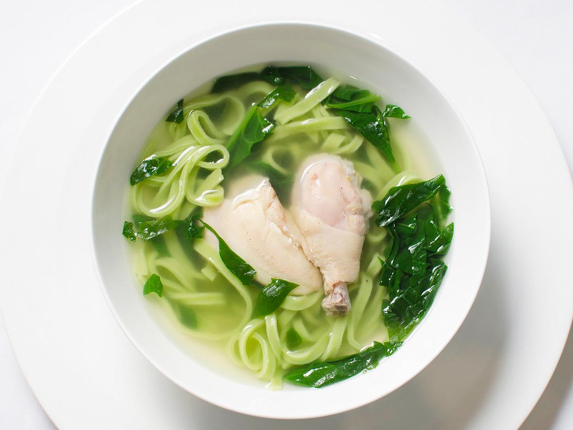 Суп из цыплят Черного Петуха