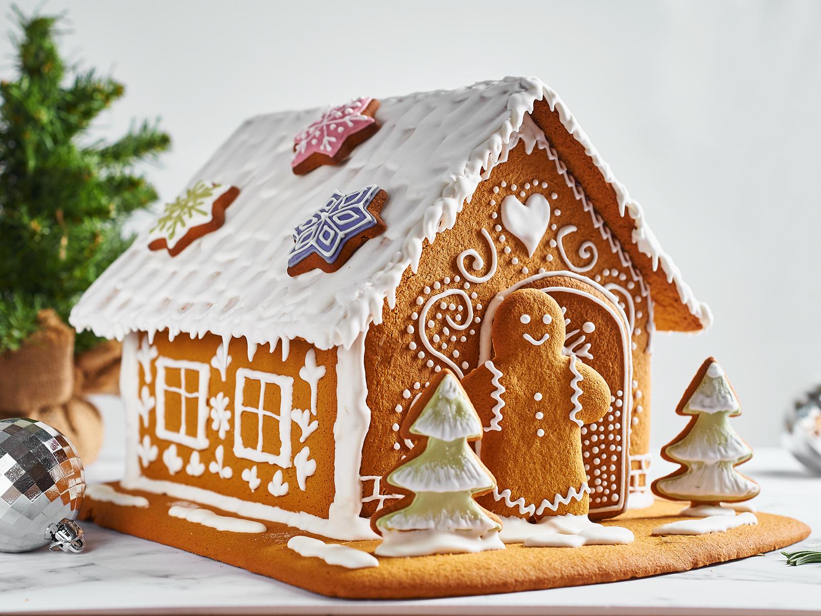 Пряничный домик gluten free
