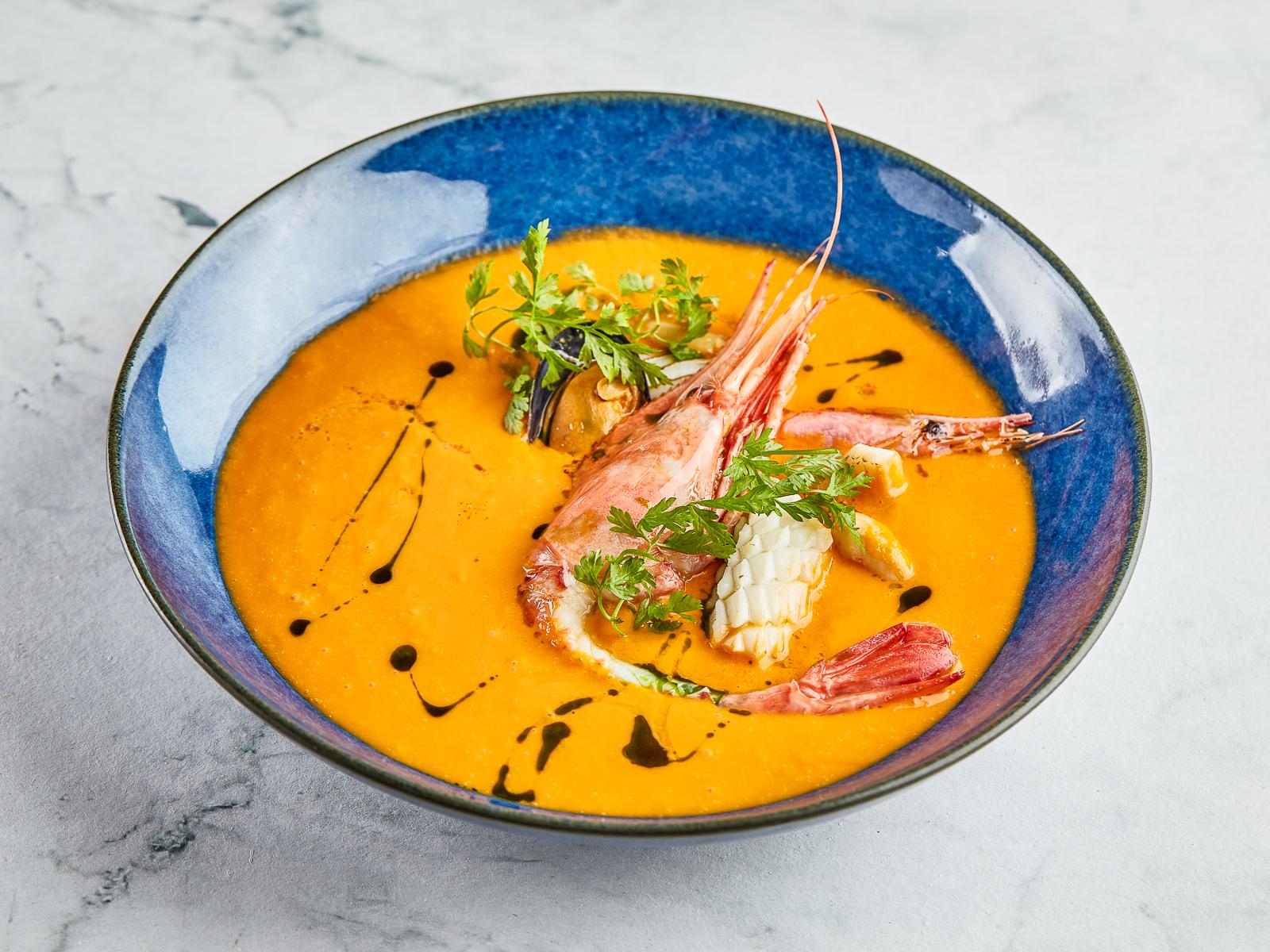 Суп Биск из камчатского краба