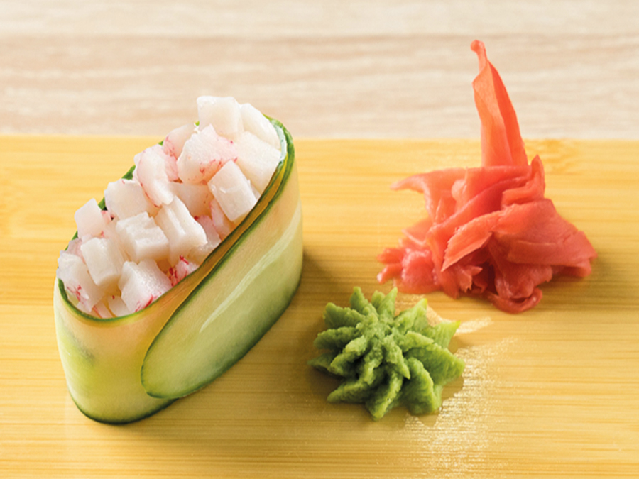 Каппа-суши с крабом