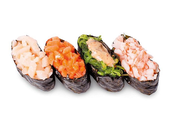 Спайси суши с курицей