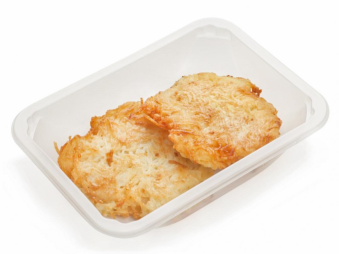 Картофельные драники с куркумой