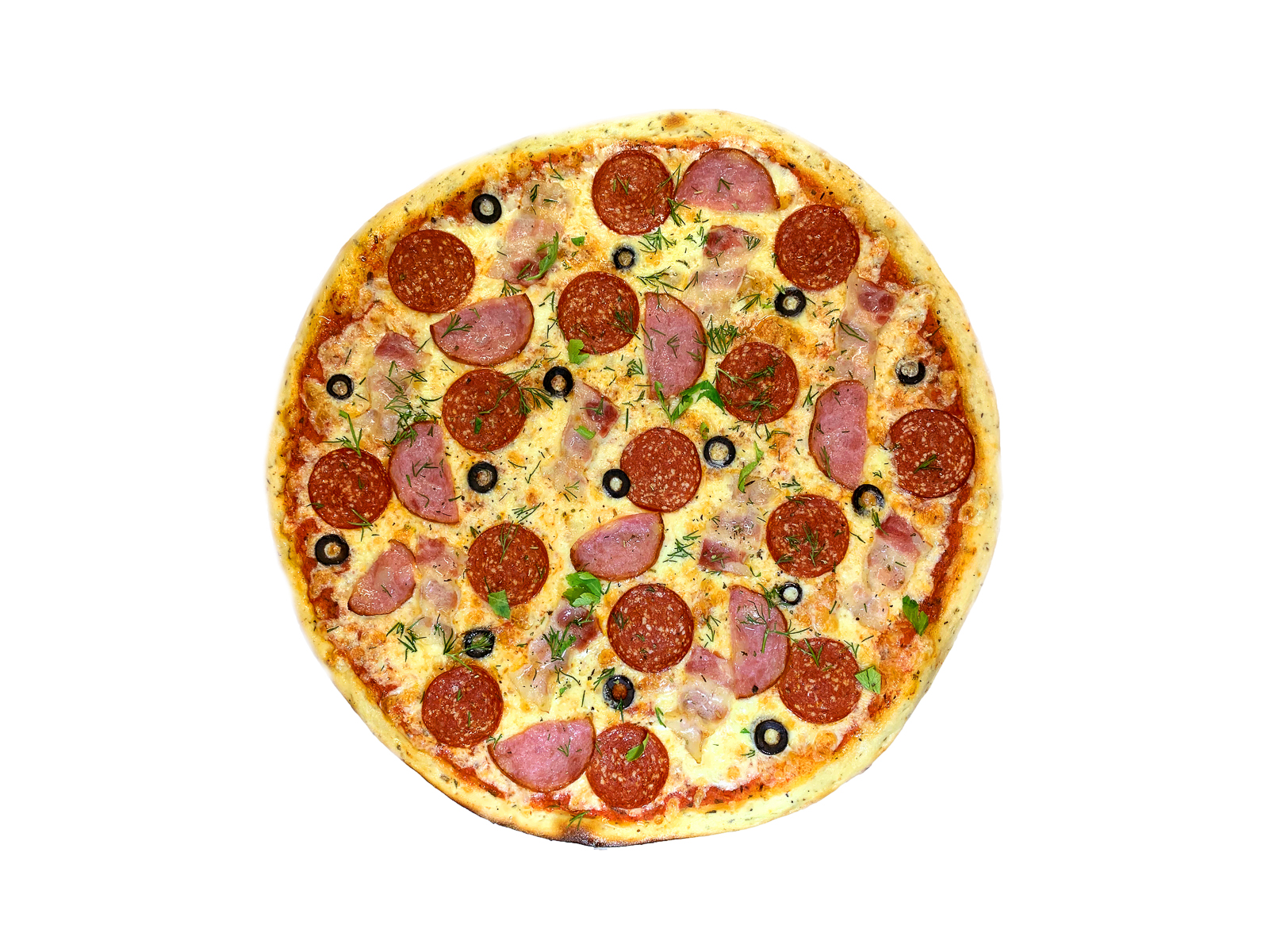 Пицца Три мяса