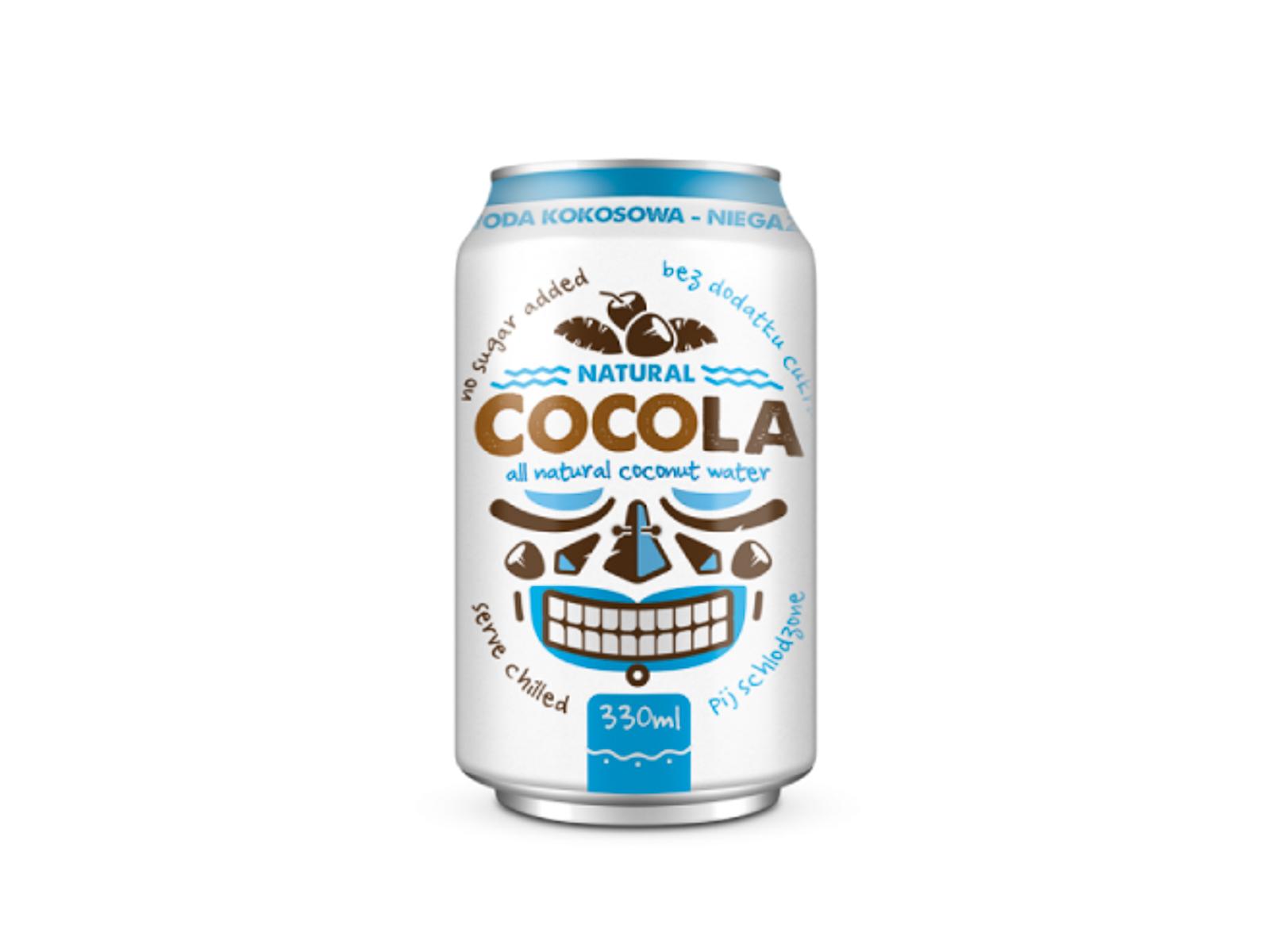 Натуральная кокосовая вода Cocola