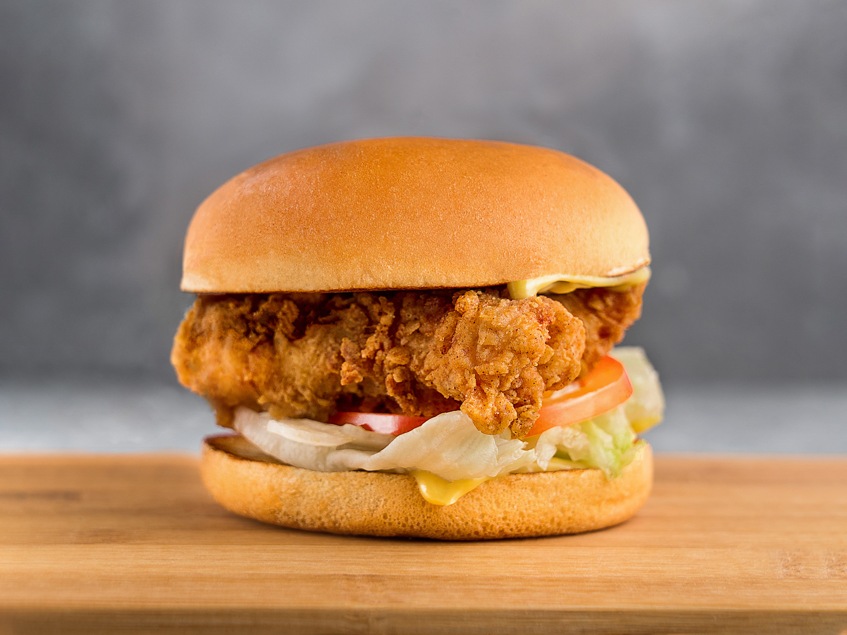 Чикен тендер сэндвич медово-горчичный
