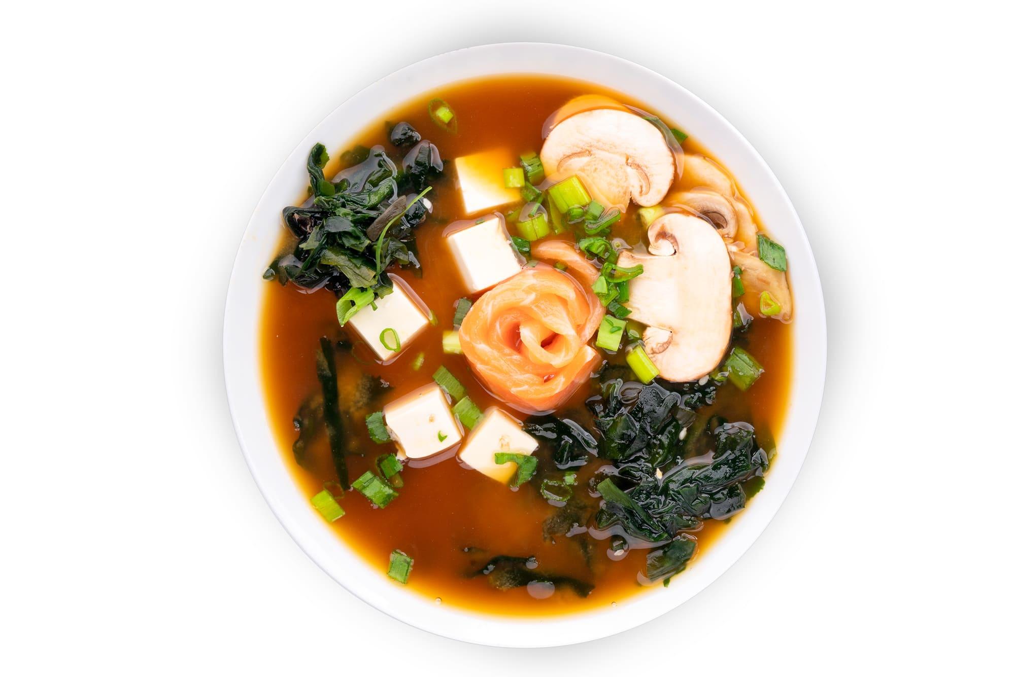 Мисо суп с лососем Стандарт