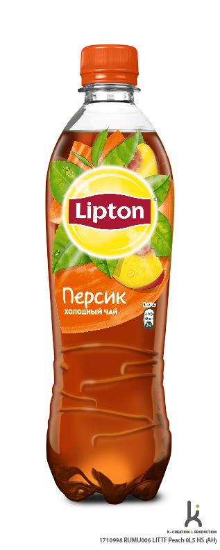 Холодный чай Lipton Персик