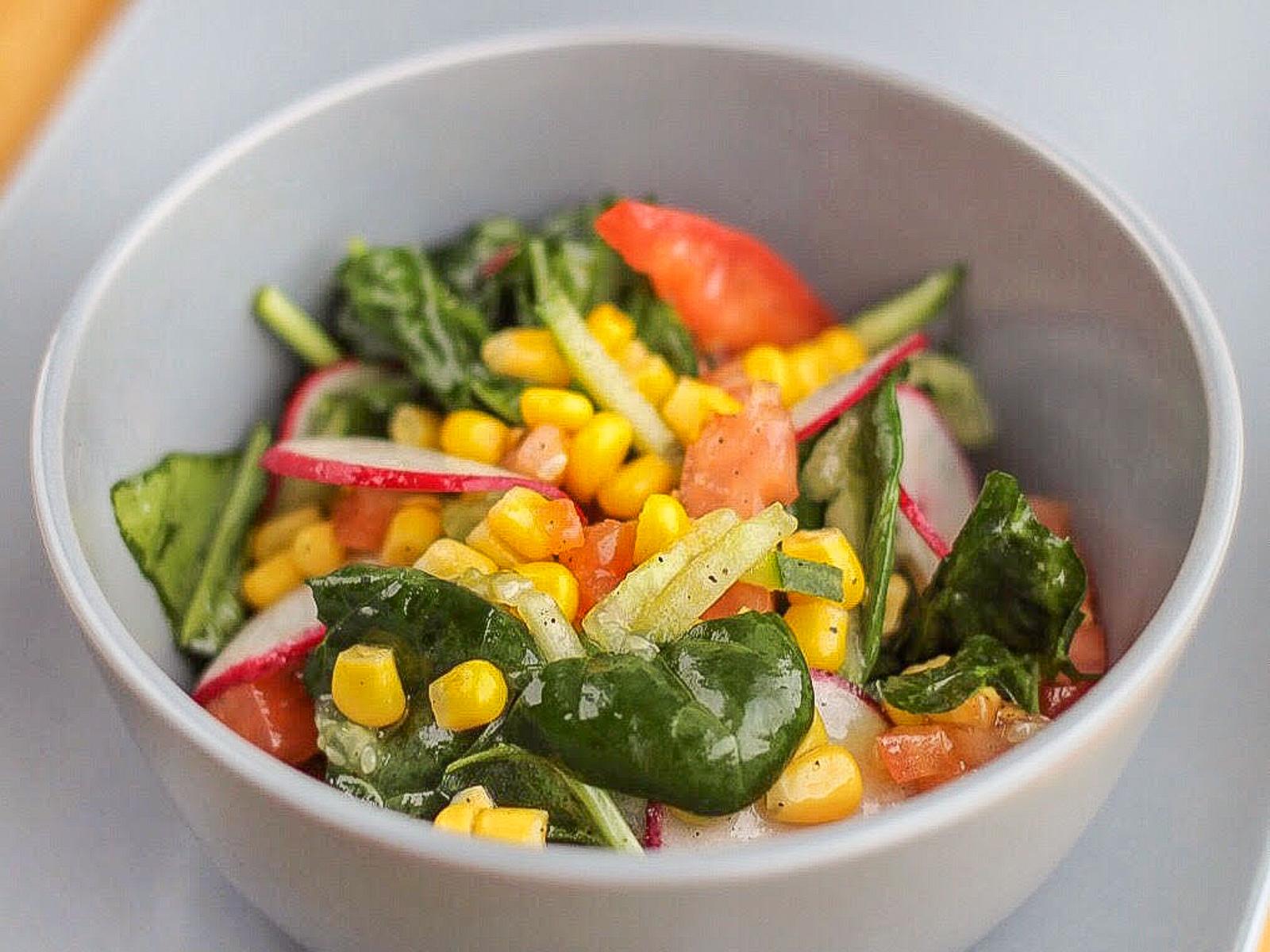 Довольно легкий салат