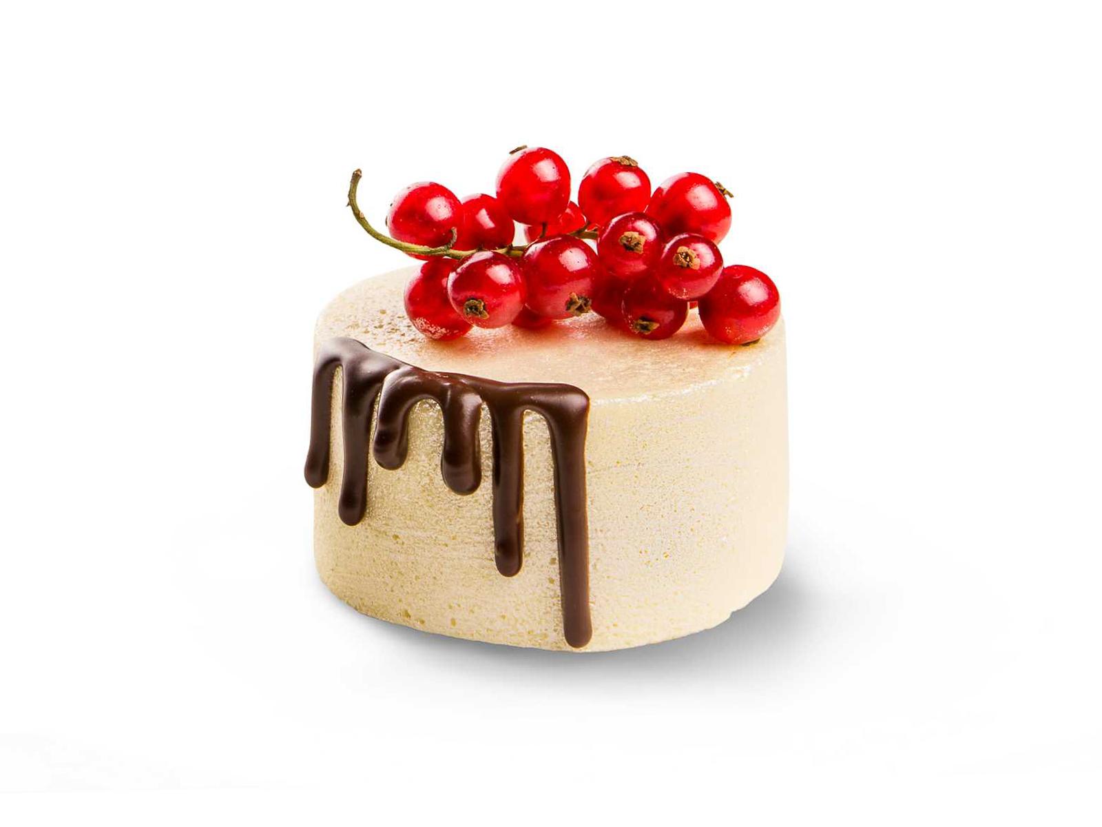 Пирожное Белый шоколад и кофе