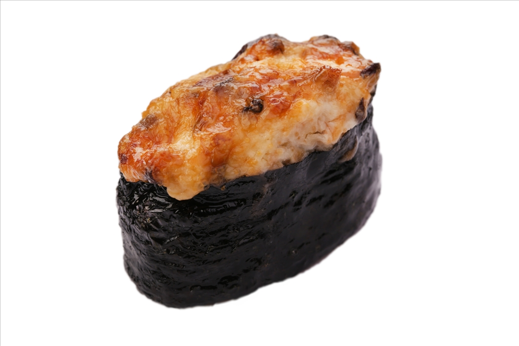 Запеченная суши угорь