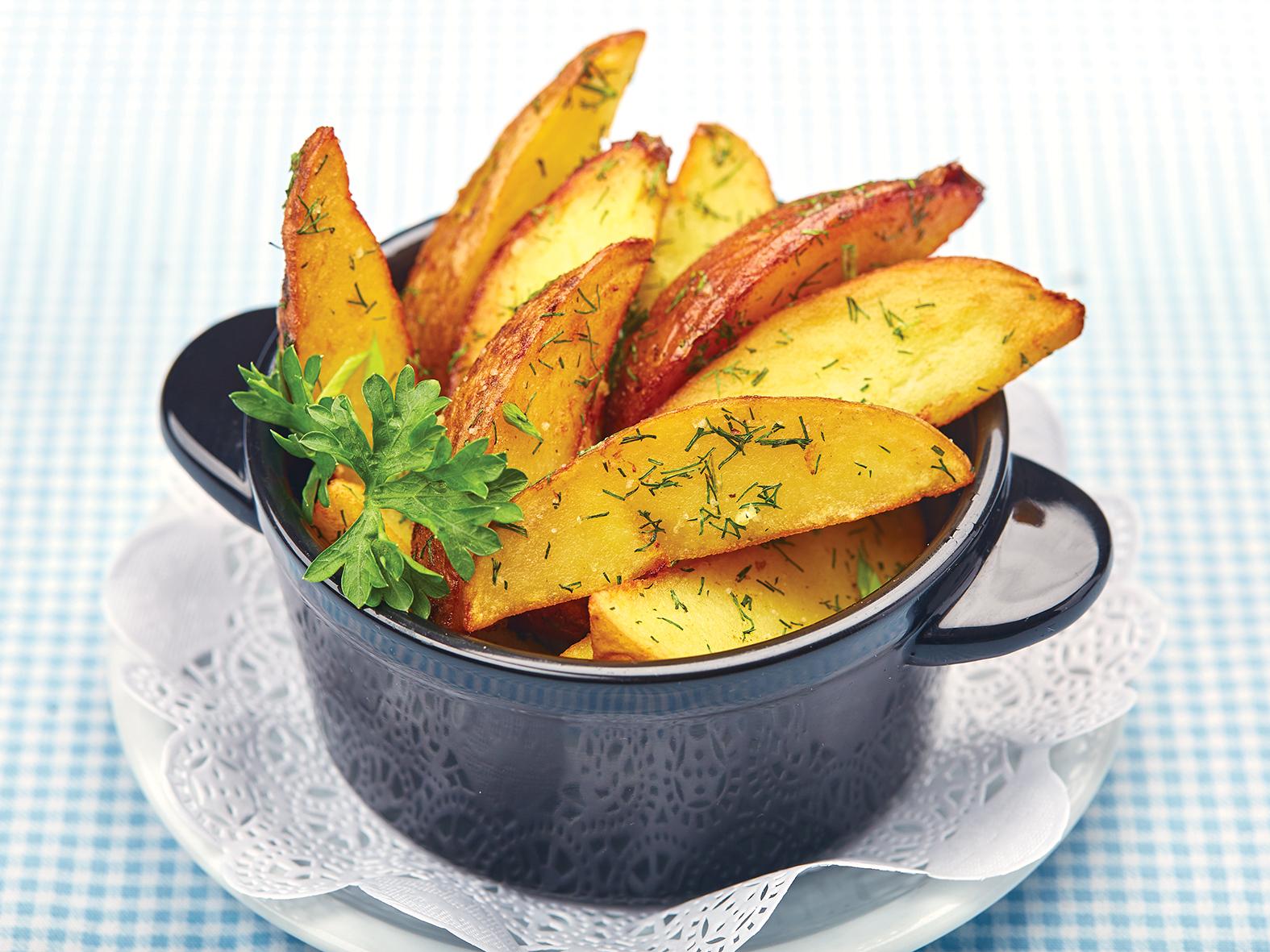 Картофель по деревенский