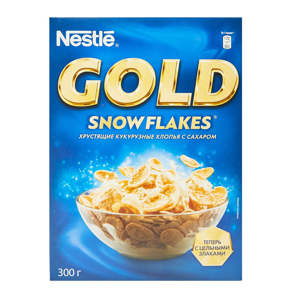Nestle gold кукурузные с сахаром