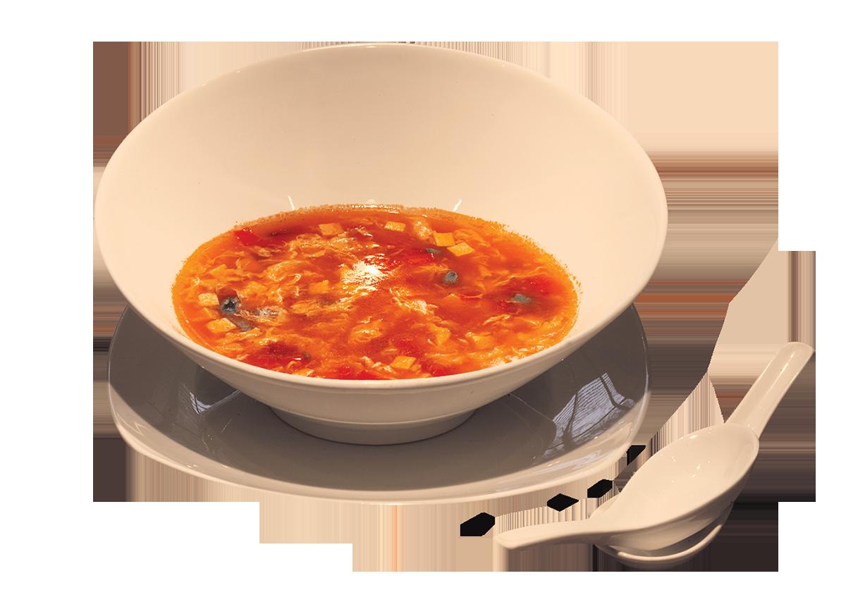 Трехцветный суп