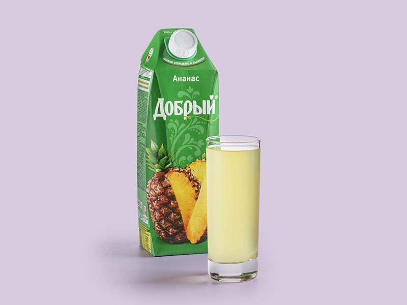 Сок Добрый ананасовый