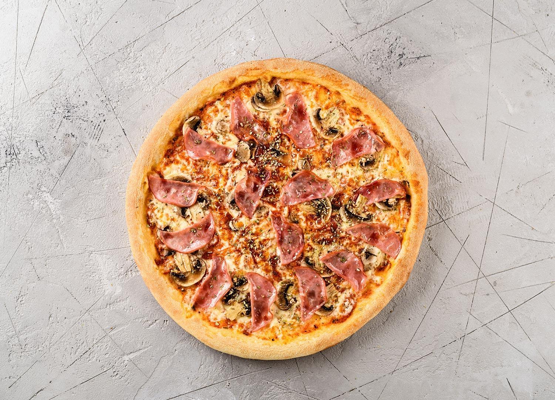 Пицца с вет. и гриб.30 см