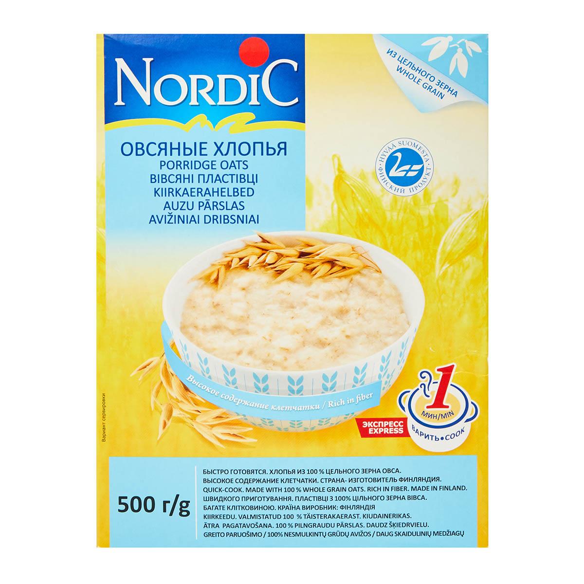 Nordic овсяные
