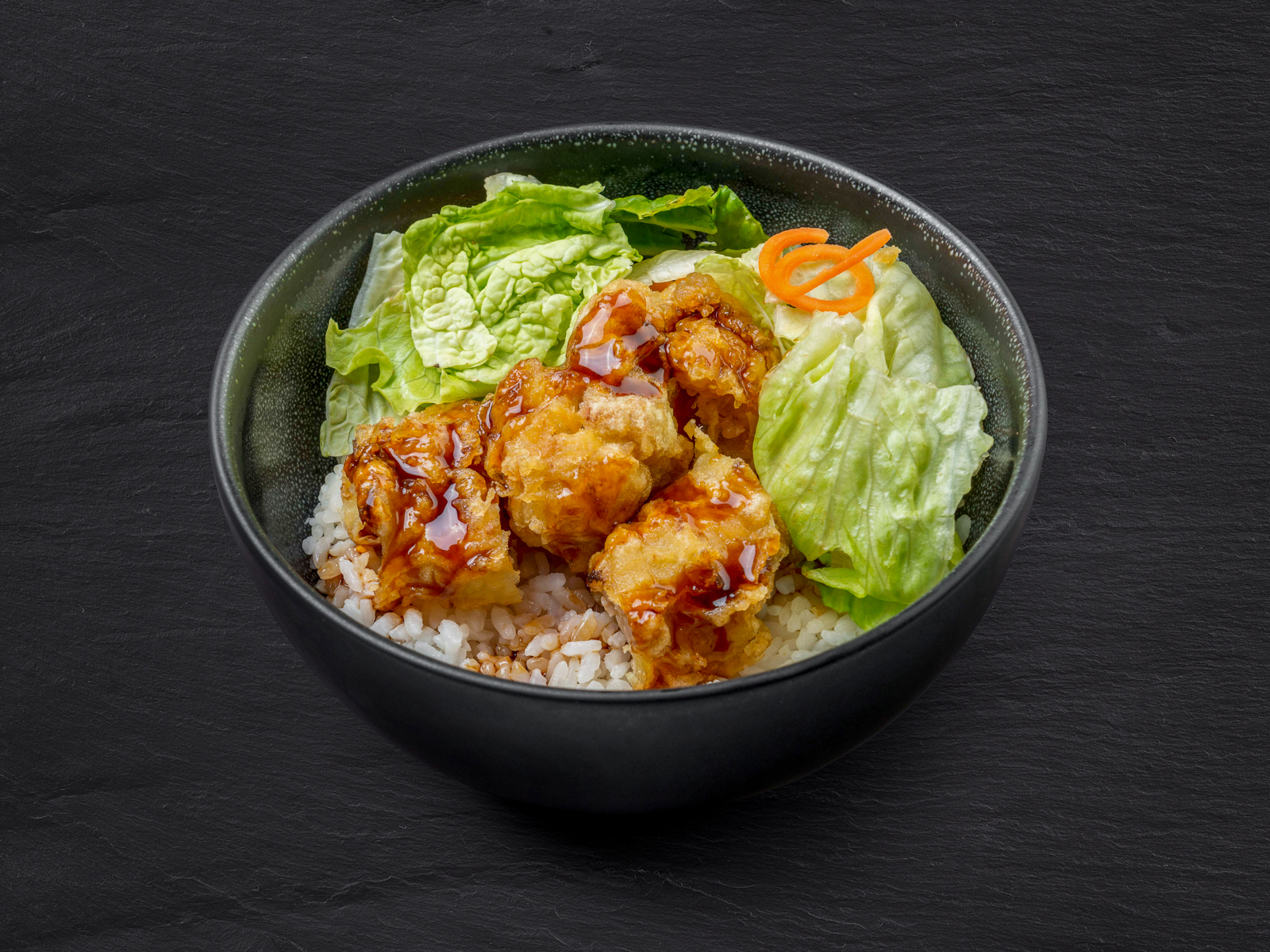 Рис с курицей карааге