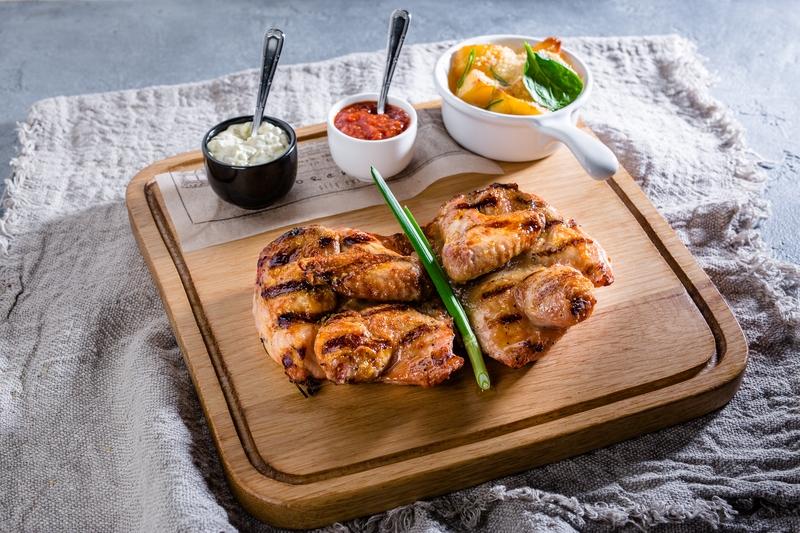 Цыпленок из печи